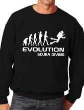 Evolution Of Scuba Diving Sport Sweatshirt Jumper Unisex Birthday Gift More Size and Color-E216