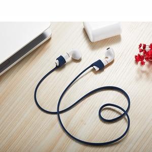 Image 3 - 68cm 이어폰 액세서리 Flypods pro 이어폰 용 안티 분실 헤드폰 스트랩 Freebuds 2 블루투스 용 실리콘 스트링 로프