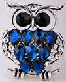 Сова растянуть кольцо для женщин девушки шелковый шарф ювелирные изделия Ж/кристалл десантный оптовой