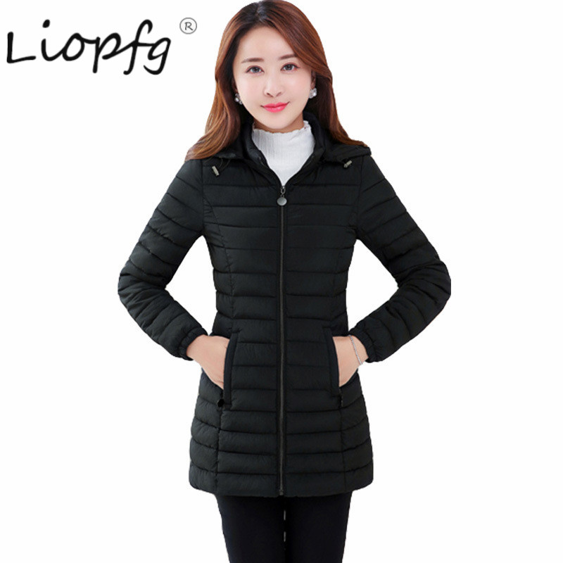 2017 autumn and winter long section of large size Slim fashion was thin thin cotton clothes 3394 physical and sensing properties of zinc oxide thin films