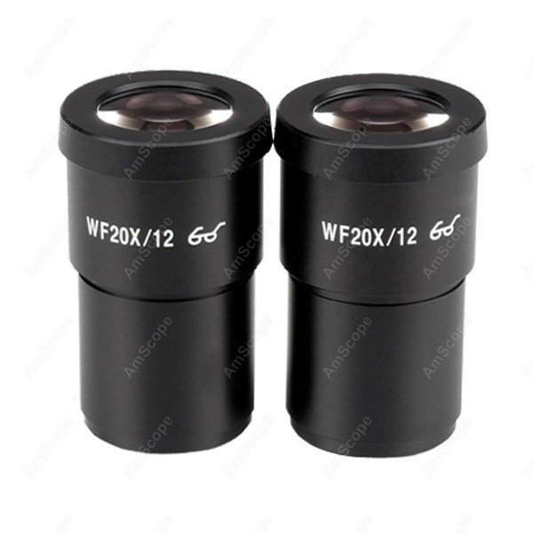 Free shipping !!!!Accessories Eyepiece-AmScope Supplies Pair of Extreme Widefield 20X Eyepieces (30mm) brand new pair wf10x 20 eyepieces for