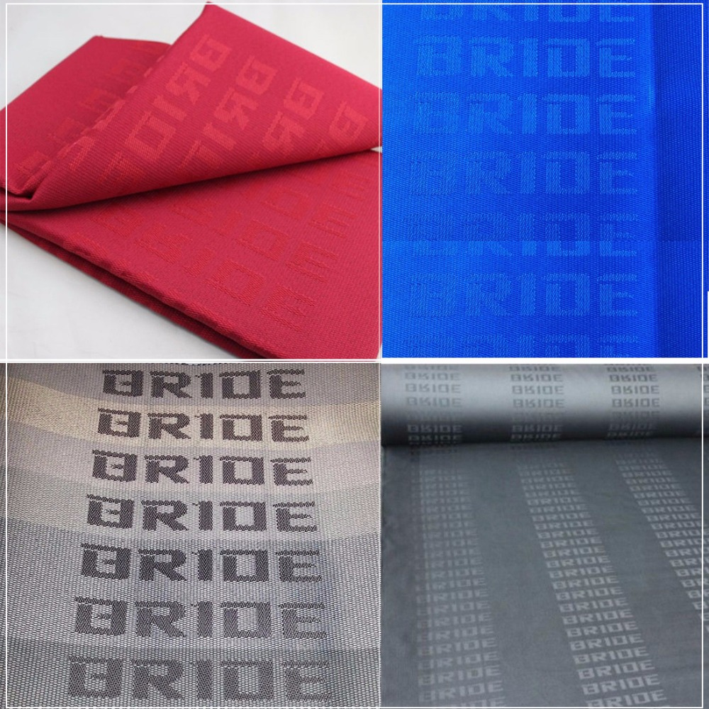 Stupendous Jdm Bride Fabric Cloth For Sparco Bride Racing Seat Cover Machost Co Dining Chair Design Ideas Machostcouk
