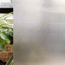 CottonColors Home Decor Baño Privacidad Window Film Tint N Pegamento Estática Etiqueta Engomada de Cristal de Tamaño 60×200 Cm