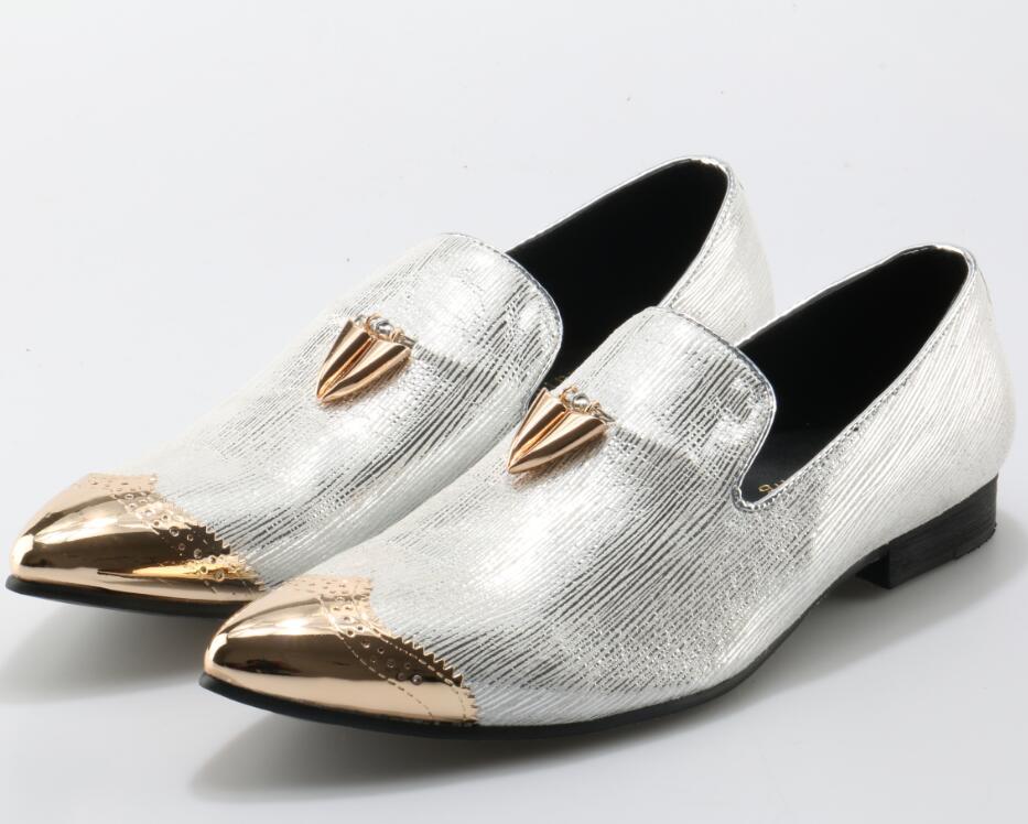 d1ef9656795 Plata-brillante-cuero-Metal-decoraci-n-punta-Toe-Metal-Chile-hombres-zapatos -Slip-On-hombres-mocasines.jpg