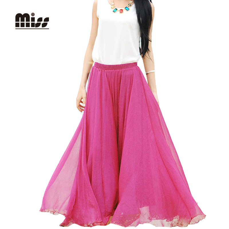 Compare Prices on Chiffon Long Skirts- Online Shopping/Buy Low ...