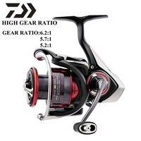 DAIWA FUEGO LT Original 1000D XH 2000D 2500 XH 3000 CXH 4000D CXH 5000D CXH 6000D H High Gear Ratio Spinning Fishing Reel