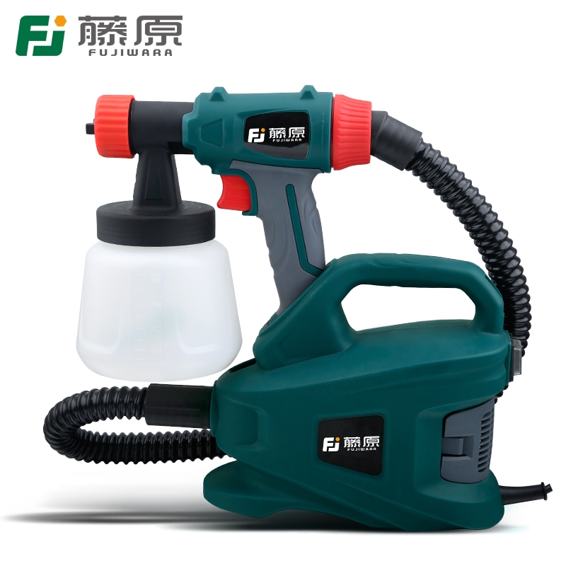 FUJIWARA Electric Spray Gun Latex Paint Sprayer Paint Spray Gun Paint Painting Tools Pneumatic High Atomization 2.5mm fujiwara electric spray gun latex paint sprayer paint spray gun paint painting tools pneumatic high atomization 2 5mm