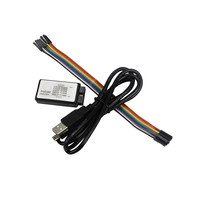 1sets New Arrival USB Logic Analyze 24M 8CH MCU ARM FPGA DSP Debug Tool