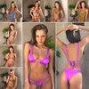Bandage Bikini Set flouncing Swimsuit knot Bikinis Maillot De Bain Feme Beachwear Bathing Suit Biquinis