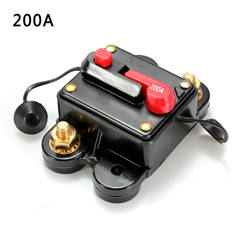100-300a Amp Circuit Breaker Car Marine Stereo Audio Inline Replace Fuse 12v-24v100-300a Amp Circuit Breaker Car Marine Stereo Audio Inline Replace Fuse 12v-24v