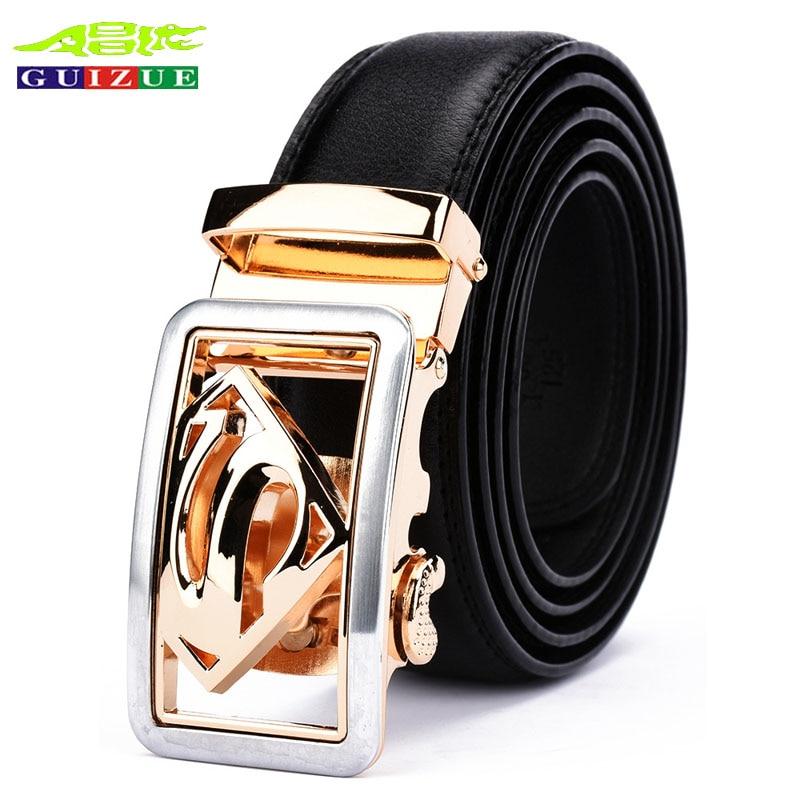 Acheter Peau de vache de Haute Qualité 100% véritable ceintures en cuir  pour hommes marque a1f2ec9d010