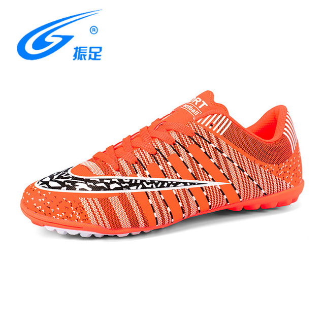 ZHENZU Men Professional Soccer Cleats Shoes TF Teenager Voetbal Training  Football Shoes Outdoor Lawn Trainers Crampons De Foot 204af41f238f5