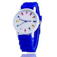 Fashion Sports Kids Children Watches Cartoon Silicone Quartz Cute Watch For Boy&Girl Leisure Wristwatch New 2017 Hot Sell