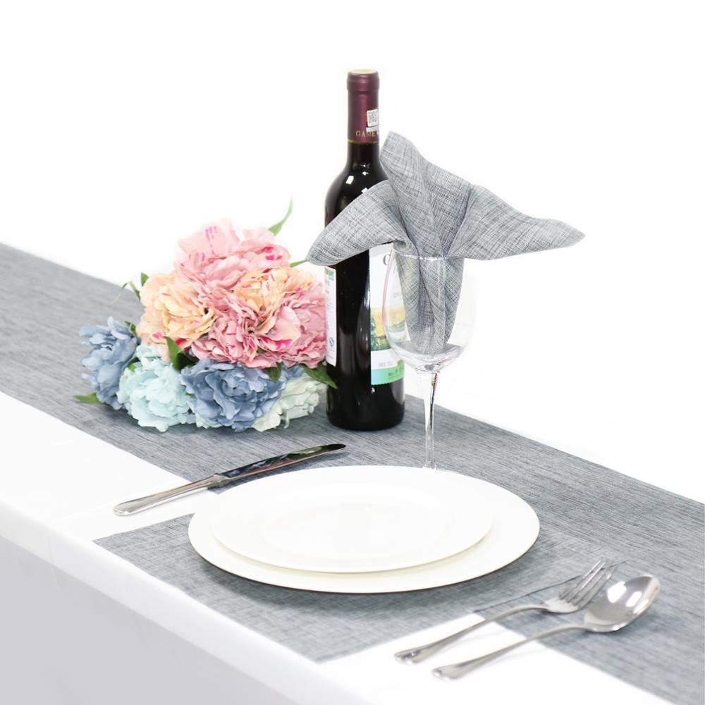"Square 12/"" Cloth Linen Table Napkins Handkerchief Wedding  Party Tableware Decor"