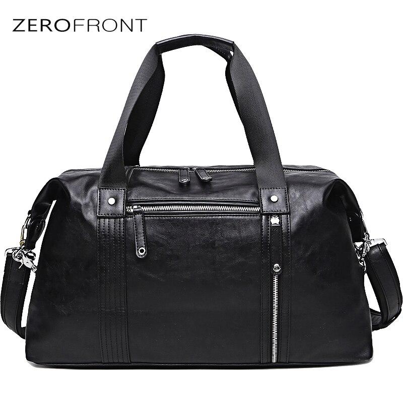 ZEROFRONT Fashion Men's Travel Bags Waterproof duffel bag Large Capacity Bags casual Multifunction Large Capacity тканевый пенал large capacity bag