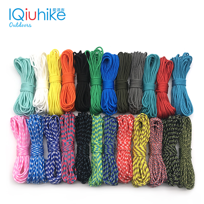 2019 NEW 100 Colors Paracord 2mm 100 FT,50FT ,25FT One Stand Cores Paracord Rope Paracorde Cord For Jewelry Making Wholesale-in Paracord from Sports & Entertainment