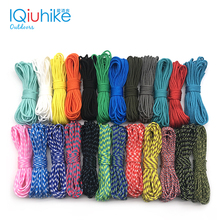 2020 nowy 100 kolory Paracord 2mm 100 FT 50FT 25FT jeden stojak rdzenie paracord liny Paracorde przewód do tworzenia biżuterii hurtowych tanie tanio IQiuhike Paracord-2mm Polyester 100FT 50FT 25FT About 100 colors Bracelets necklace etc Paracord Cord For Jewelry Making