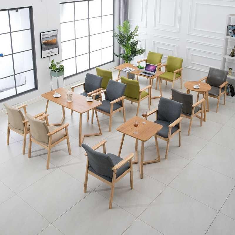 Banco de madeira poltrona sólida cadeira de jantar de madeira Nórdica casa moderna simples backchair cadeira da conferência cadeira cadeira mesa