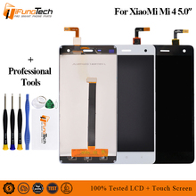 100% Original New For Xiaomi Mi4 M4 MI 4 Full LCD Display Touch Screen Digitizer Assembly Phone Parts 10pcs 100% tested original new lcd display with touch screen digitizer assembly full sets for xiaomi mi 4 mi4 m4 free shipping