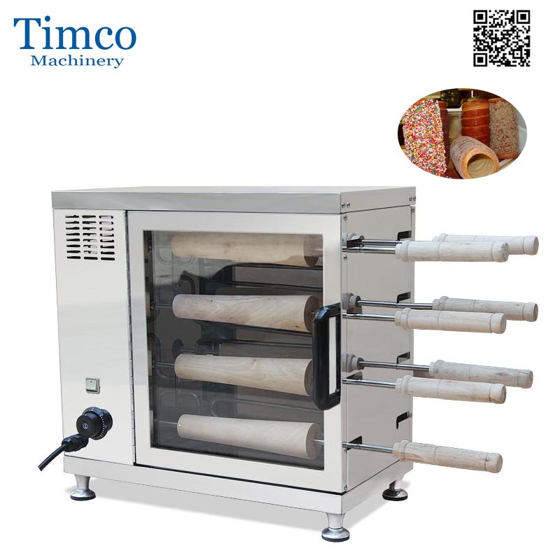 Chimney Maker 16 Rolls Oven Machine Freeshipping Commercial Hollow Bread Ice Cream Cone Making Machine ice cream making machine commercial machine for making ice cream cone ice cream cone making machine
