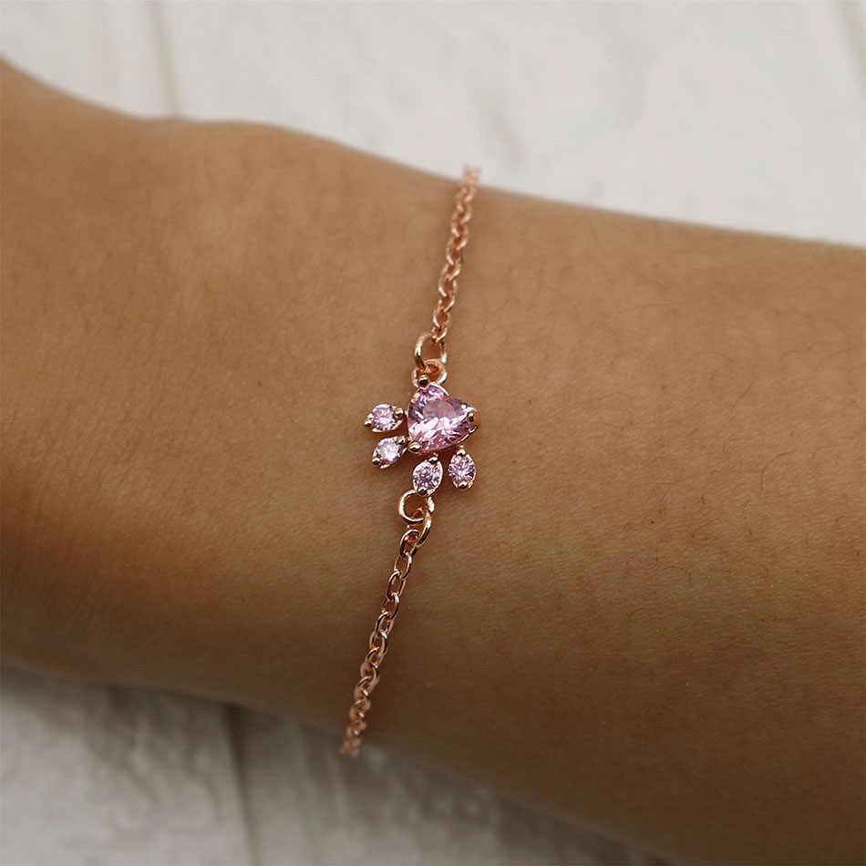 2f1d46ece ... New Fashoin Bracelet Jewelry Tassut Cat Dog Paw Claw Bracelet Lovely  Animal Bracelets for Women pulseras ...