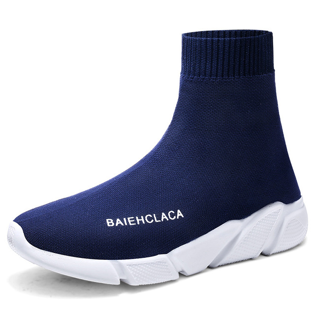 Women Vulcanized Shoes Slip On Tenis Masculino Adulto Socks Footwear Basket  Femme Breathable Couple Shoes Sneakers e5735ef3873f0