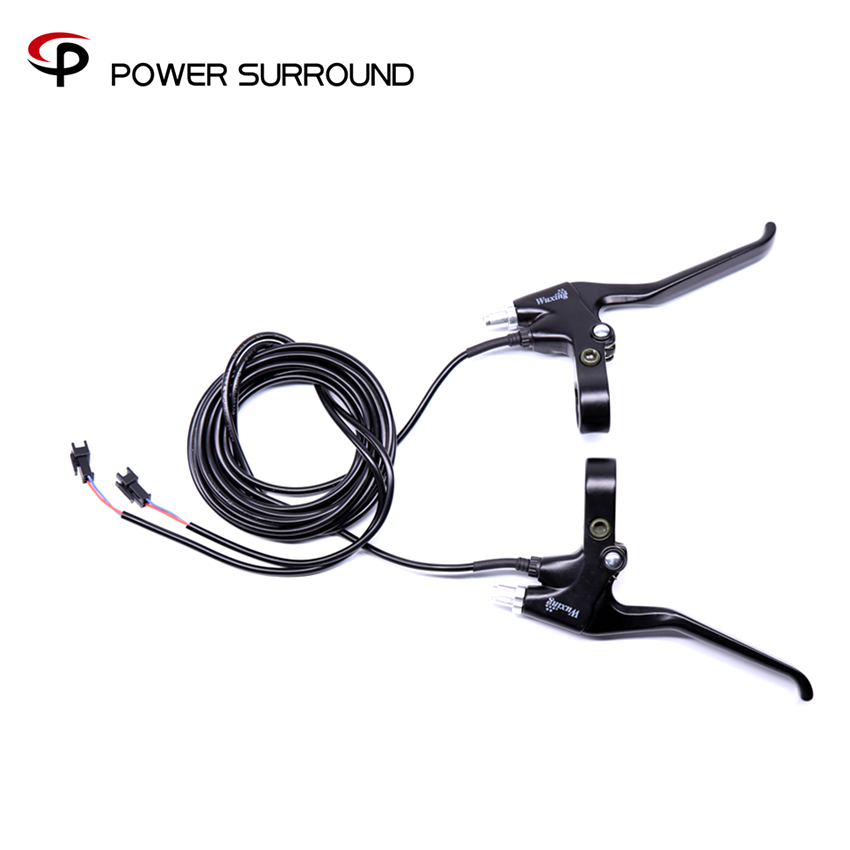 Free shipping electric bike cut off power brake lever for hub motor wheel kit