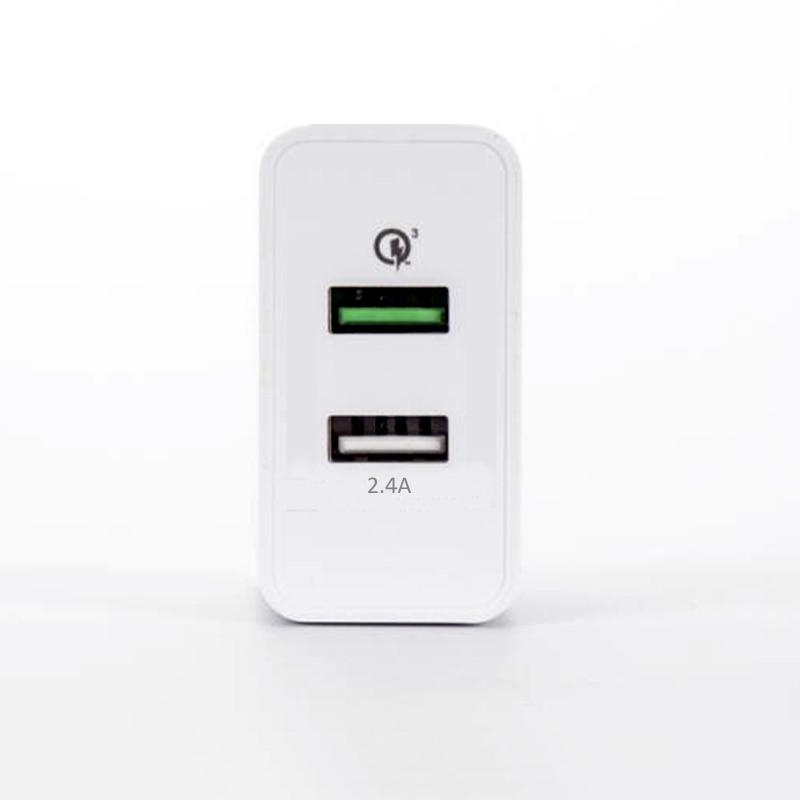 INGMAYA 2 Qualcomm Cepat Mengisi Charger USB 3.0 30 W 2.4A Untuk - Aksesori dan suku cadang ponsel - Foto 4