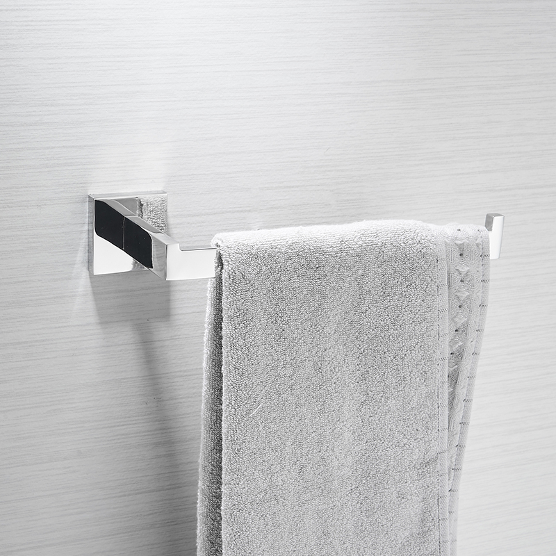 AUSWIND Modern silver Square base 304 stainless steel towel ring bathroom towel rack wall mount bathroom hardware 5pcs 304 stainless steel capillary tube 3mm od 2mm id 250mm length silver for hardware accessories