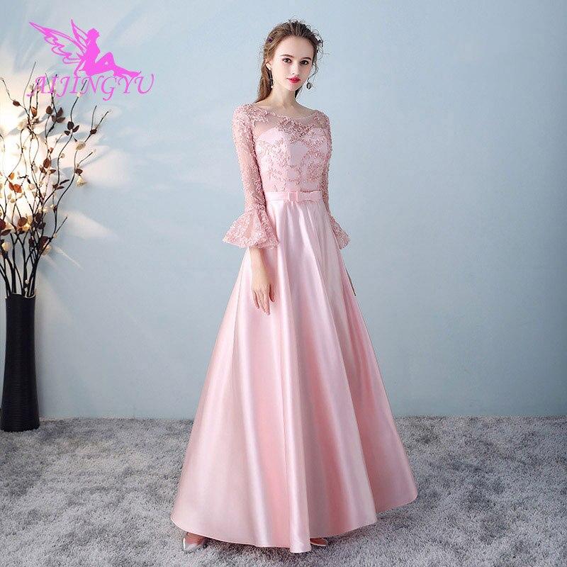 AIJINGYU 2018 Hot Sexy Elegant Dress Women For Wedding Party Bridesmaid Dresses BN412