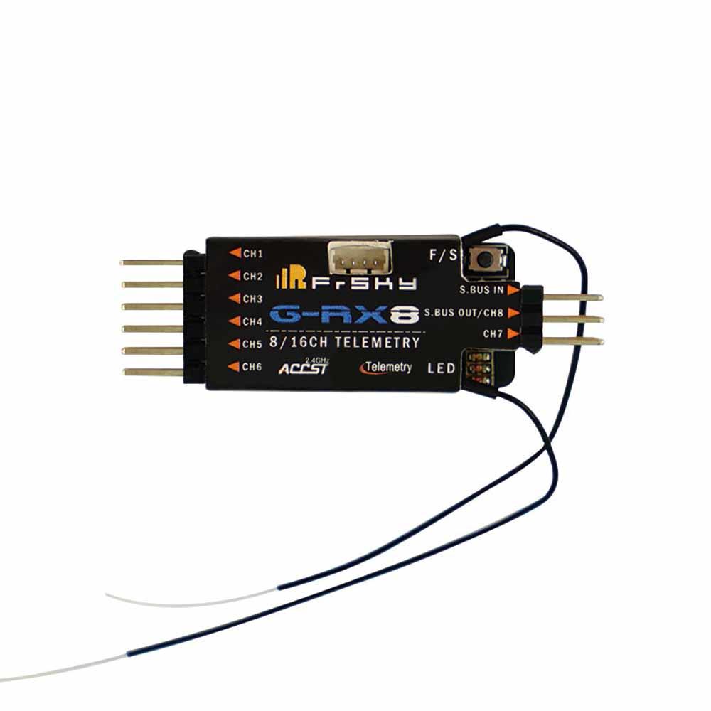 Récepteur FrSky G-RX8 conçu pour les planeurs capteur de variomètre intégré dans RX8R avec fonction de redondance