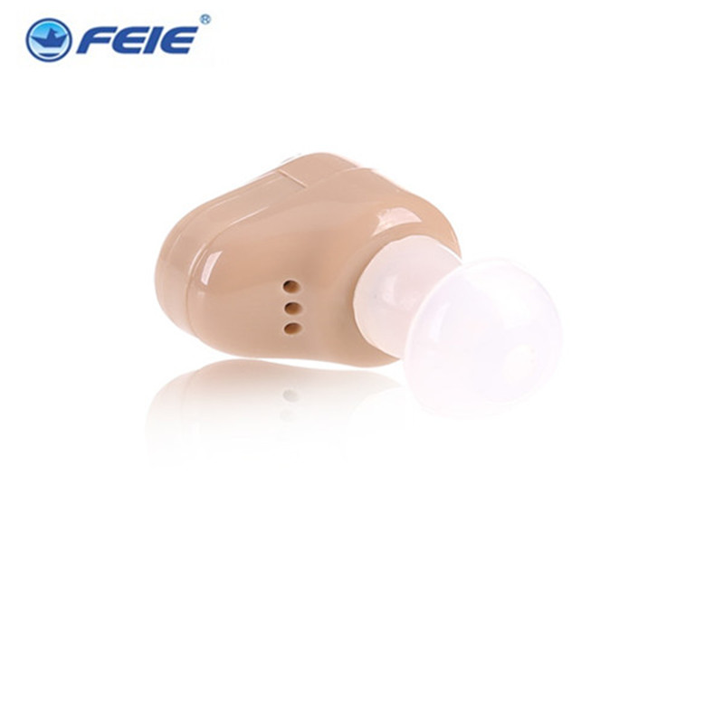 Feie Cheap Hearing Device  Mini Adjustable Tone In the Ear  Hearing Aid S-900 Ear Care Products Free Shipping