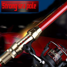 TAIYU 2.1M-3.6M Portable 5-7Section Telescopic Carbon Sea Spinning Hand Fishing Rod Pole Super Long