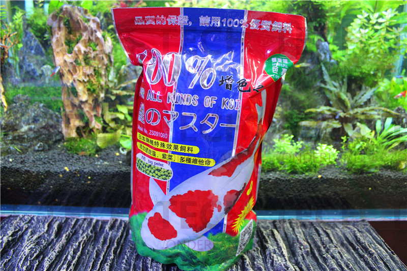 Online buy wholesale koi food from china koi food for Koi fish food for sale