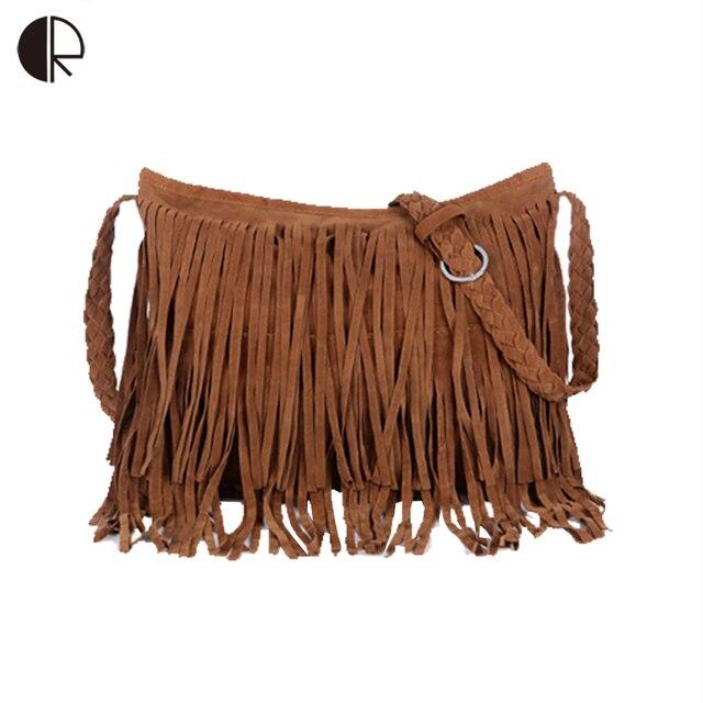 Women Messenger Bags Handbags 2018 Fringe Tassel Bag Female Bolsas De Marca Fashion Cross Body