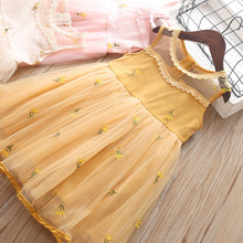 Girl Dresses Summer Baby Kids Clothes Princess Lace Tutu Dress Party Wedding Costume Toddler Children Clothing 3 4 5 years Wear