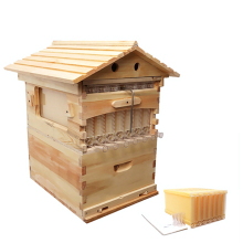 Wooden Beehive Box With 7 Beehive Frames Beekeeping Tools Honey Self Flowing Beehive House Bee Hive Supplies Beekeeper Equipment