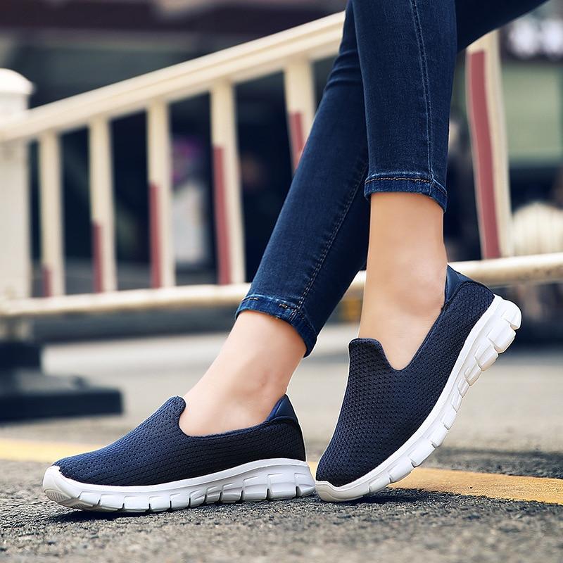 44bab7b7ec Γυναικεία παπούτσια Women Slimming Sneakers 2018 New Walking Fitness Swing  Trainers Leisure Footwear Fashion Zapatos De Mujer Casual Shoes