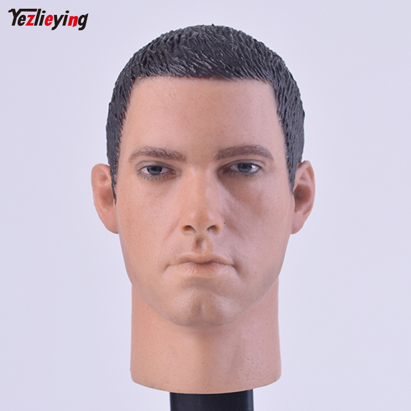 Headplay 1/6 Scale accessories Male Head Sculpt C-0033 Eminem Carving Model Fit 12 Action Figure Doll Body Toys For Children baseus guards case tpu tpe cover for iphone 7 plus blue