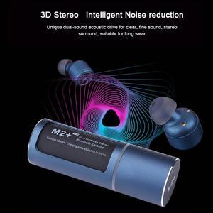 Image 5 - Bluetooth 5.0 kulaklık TWS kablosuz kulaklık kablosuz Handsfree su geçirmez spor kulaklık mikrofonlu kulaklık şarj kutusu PK X2T