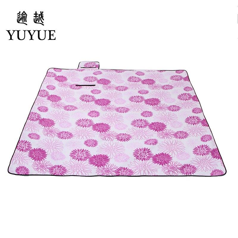 200*200cm waterproof picnic mat for colchoneta  picnic camping fishing suefe surface tourist tent aluminum picnic mat blanket  4