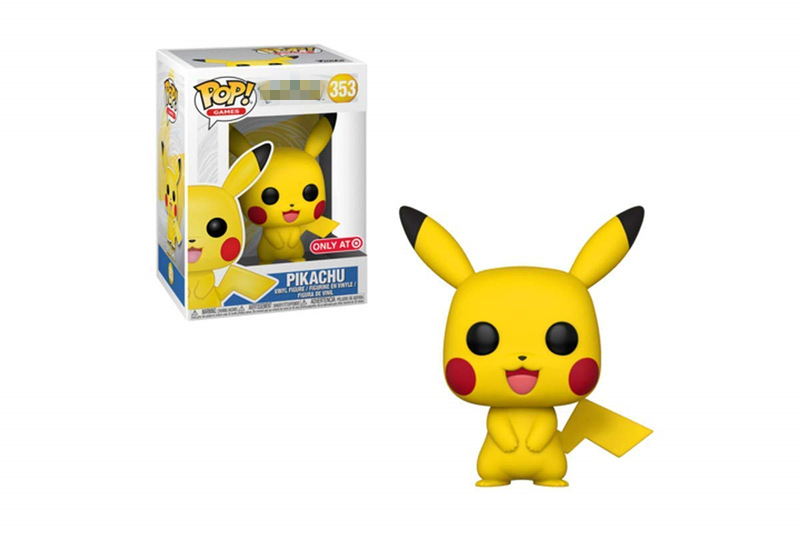 Exclusive Funko pop Official Cartoon Pikachu Vinyl Action Figure Collectible Model Toy with Orginal Box In Stock funko pop zootopia fox nick 186 pvc action figure collectible model toy 10cm kt2247