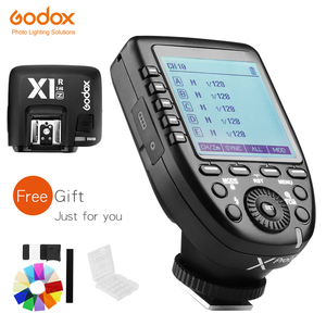 Image 1 - Godox xpro n i ttl 2.4グラムワイヤレス高速同期 × システムトリガー + godox X1R N受信機ニコンカメラ