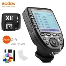 Đèn Flash Godox XPro N Tôi TTL 2.4G Không Dây Đồng Bộ Tốc Độ Cao X Hệ Thống Kích Hoạt + Godox X1R N Đầu Thu dành Cho Máy Ảnh Nikon
