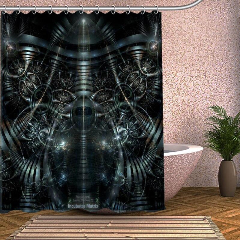 The Matrix Revolutions Shower Curtain Eco friendly Modern Fabric ...