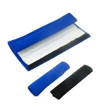 1 пара модных чехлов для ремня безопасности автомобиля, плюшевые однотонные Противоударные Защитные Наплечные подушки JLD