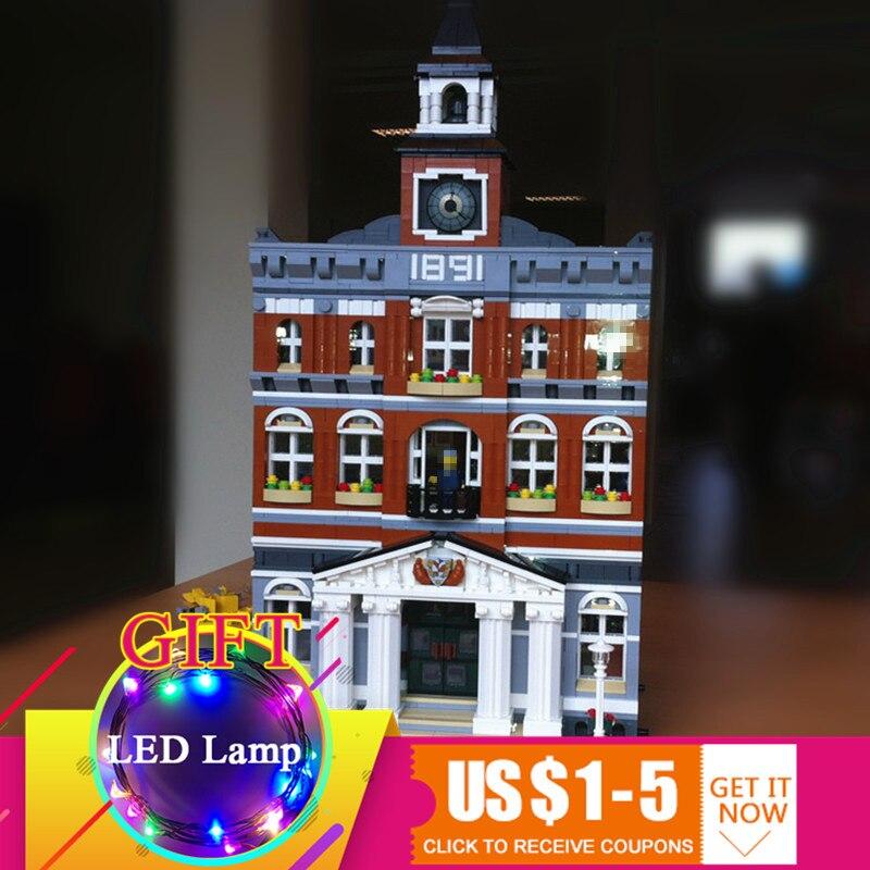 Здесь продается  15003 2859Pcs City Town Hall Model Set Compatible With 10224 Building Blocks Children DIY Toys gift  Игрушки и Хобби