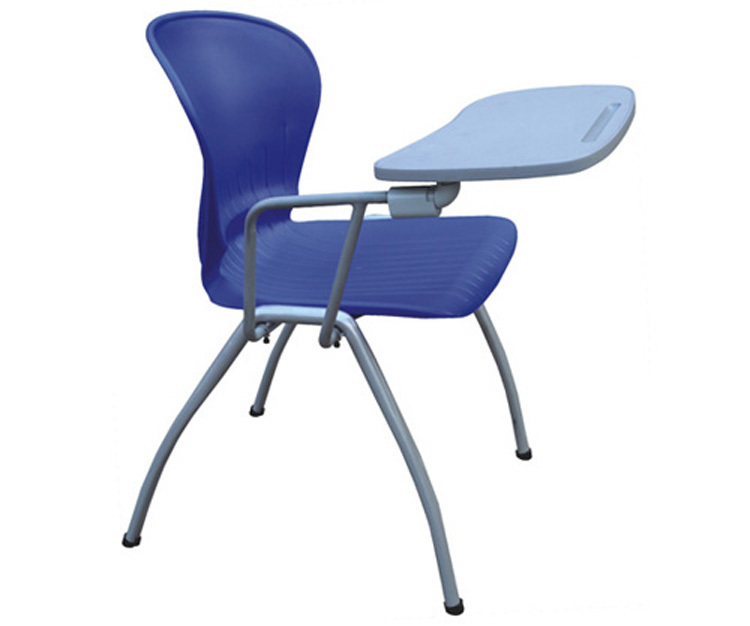Chairs Tables: Sturdy Stacking Lecture Chair With Note Taking Table
