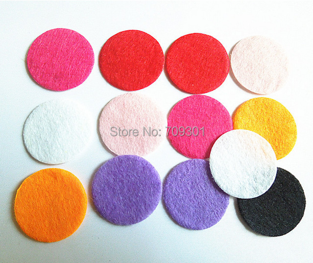 1000pcs/lot multi color circle felt pads 3cm felt pads for flower accessories