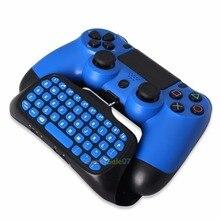 Bluetooth Wireless Keyboard Chatpad for font b Gamepad b font Joystick PS4 Slim Controller 0321